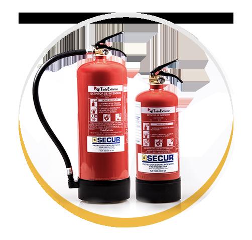Extintores | Empresa de Seguridad y Alarmas