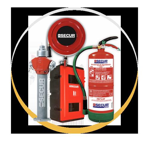 Sistemas contraincendios | Empresa de Seguridad y Alarmas